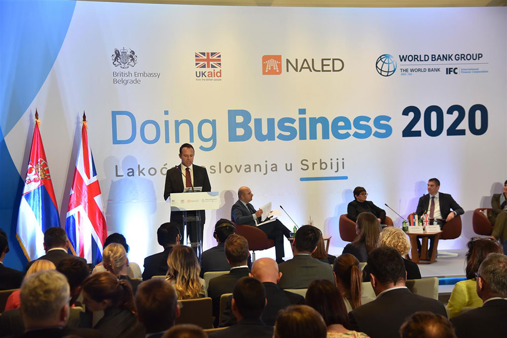 Serbia advances on Doing Business list 2020...